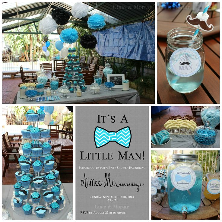 little man baby shower on pinterest boy shower baby showers and