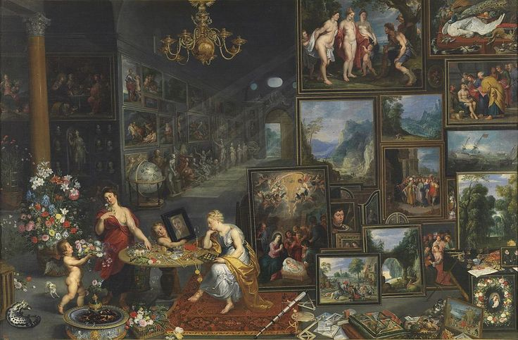 Jan Brueghel the Elder Allegory of Sight and Smell
