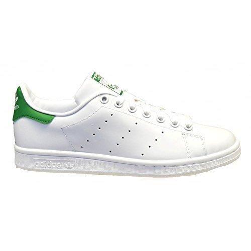 adidas Men\u0027s Originals Stan Smith Sneaker White/White/Fairway 9.5 ...