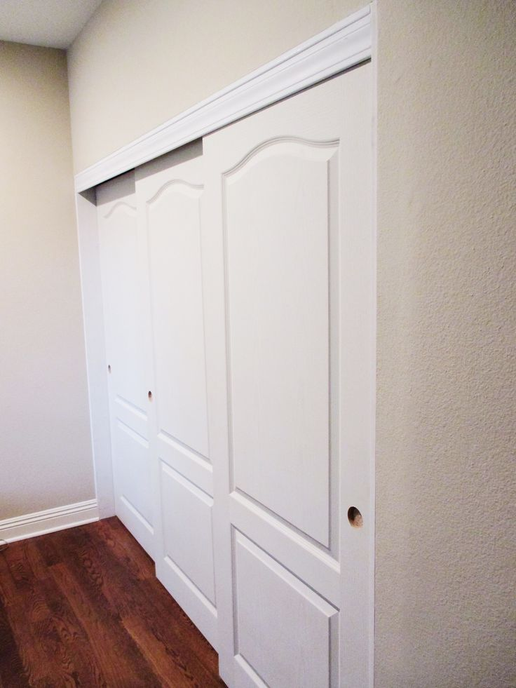 Do your old closet doors need to be replaced asap? Check out these gorgeous 3-panel, 3-track, top hung, Princeton, smooth solid core Closet Doors that we installed in El Segundo, California! Upgrade with class and leave your flooring untouched with top hung Closet Doors installed by Classic! Purchase yours by calling (866) 567-0400 or visiting www.CHIproducts.com today!