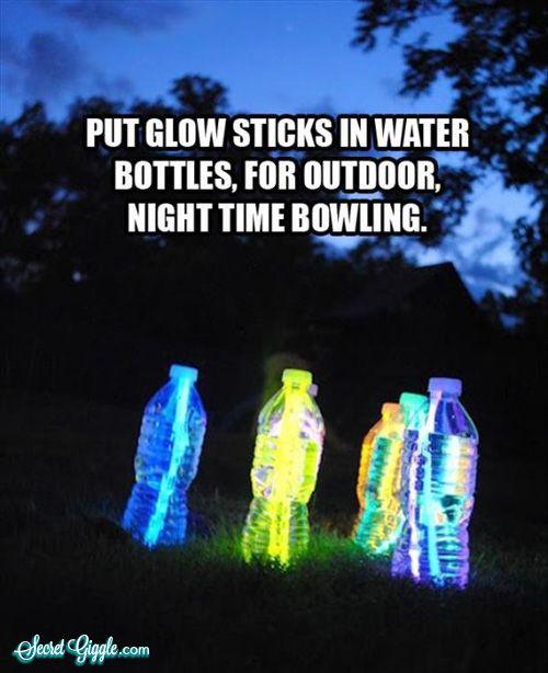 nighttime lawn bowling