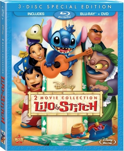 Lilo and Stitch two disc blu-ray and DVD washes ashore this June