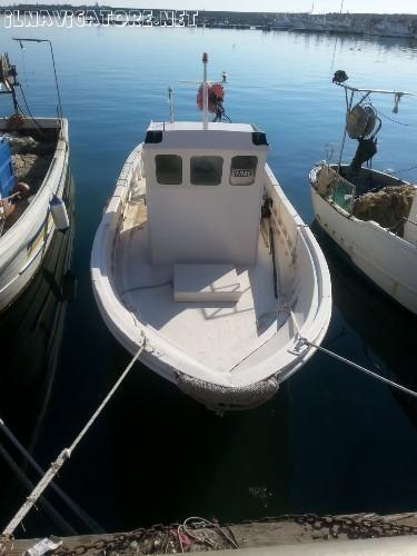 Barca da pesca con licenza 2gt prezzo privato for Barca a vapore per barche da pesca