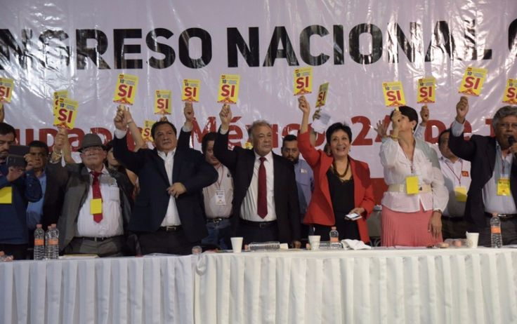 <p>Ciudad de México. El Congreso Nacional del Partido del Trabajo avaló aliarse con Morena en 2018.</p>  <p>Por unanimidad, los