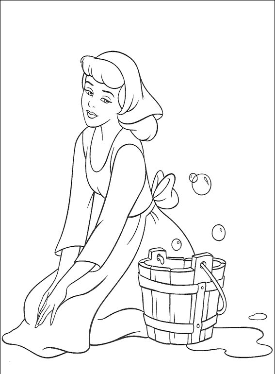 Check Out My Free Printable Cinderella Coloring Pages And Sheets They Are Beautiful In Sequence To The Fairy Tale Her Disney Princess Friends Can Be