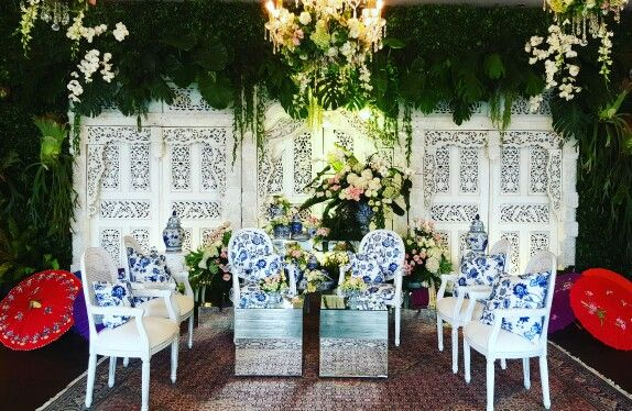Main lounge for Tania & Nugra's wedding after party