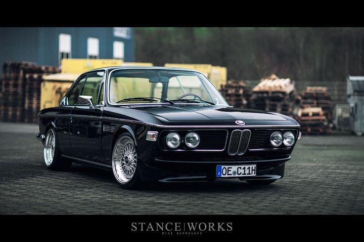 Behind H&R - Christian Heine's BMW E9 3.0 CSi