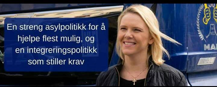 """""""A strict immigration policy to help as many as possible, and an assimilation policy that gives clear and strict rules."""" - Sylvi Listhaug, (Norwegian immigration minister from the Progressive Right Winged Party FRP. Norway) I highly agree, we need that! Every western country need that!"""