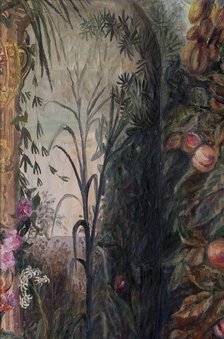 Ioana Batranu - romanian female artist, born 1960 Melancholic Interior, 1992