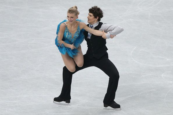 Piper Gilles and Paul Poirier of Canada compete in the Ice Dance Short Dance during ISU World Figure Skating Championships at Saitama Super ...