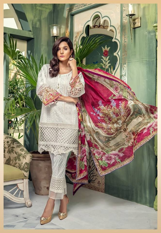 ffbb69dcfa Maria B Eid Collection 2018 #maria-b #lawn #lawndesigns #pakistani  #pakistanifashion #pakistanidesignerwear