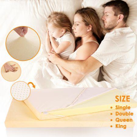 Memory Foam Mattress Topper - Double Bed