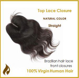 Brazilian-virgin-hair-lace-top-closure natural straight