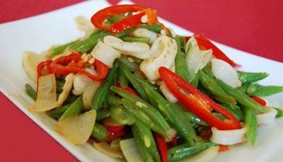 Resep Tumis Sayur Buncis dengan bahan tambahan udang membuatnya semakin enak.