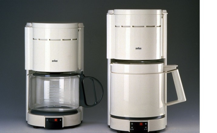 Braun Coffee Maker / Dieter Rams - he got one for the office + home.