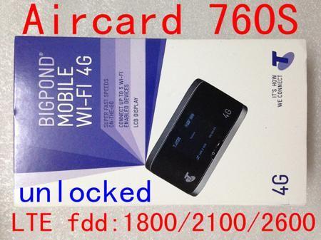 Unlock Sierra Aircard 760S LTE 4g Wireless wifi 3g 4g mifi Router 4G wifi dongle 4G pocket pk 760 782s 762s 320 763s 770s 790  — 2521.16 руб. —