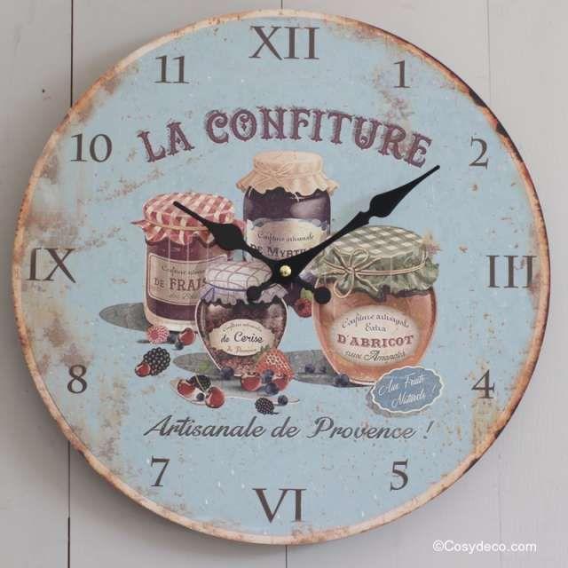 Best Nastenne Hodiny Styl Provence Images On Pinterest Retro