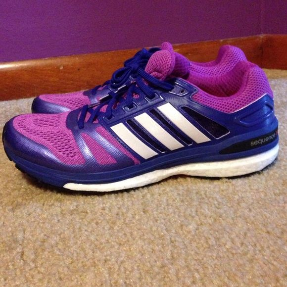 New! Adidas Supernova Sequence shoes Purple Adidas supernova sequence running shoes. Brand new! Never worn! Size 10 Adidas Shoes Athletic Shoes