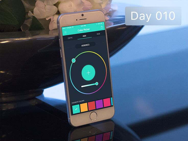 Day 010 - Color Picker by Gabriel Paunescu