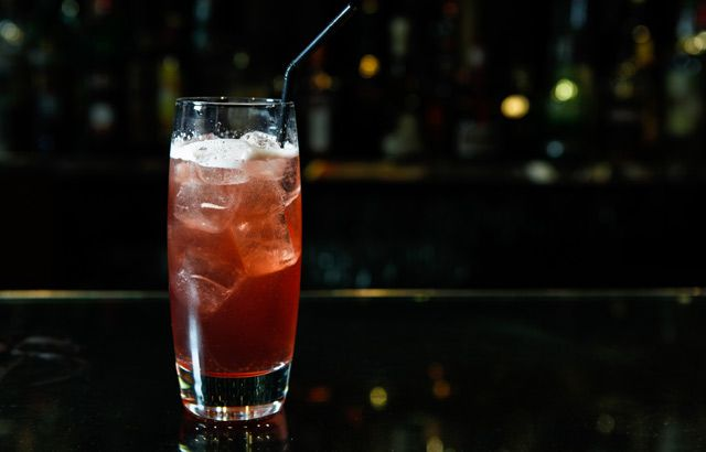 The 'Marcus' Rum, mulled wine and ginger ale