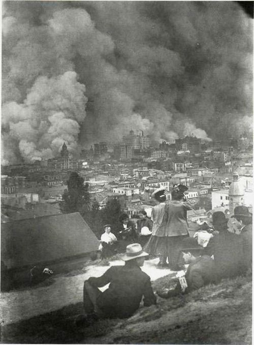 The San Francisco Fire, 1906.: San Francisco Earthquake, Arnold Genth, San Francisco History, Painters Photographers, Pictures, Francisco Fire, 1900 S, 1906 San, Photography