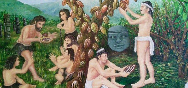 Un resumen de la historia prehispánica del chocolate realizado por el guía del MUCHO, el Museo del Chocolate en la Ciudad de México.