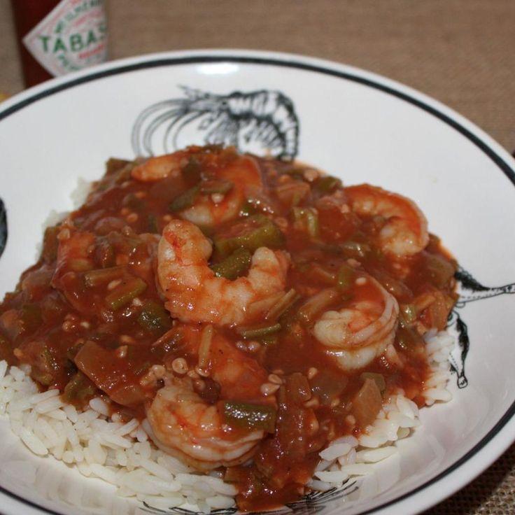 Shrimp and Okra Gumbo | Recipe | Okra, We and Okra gumbo