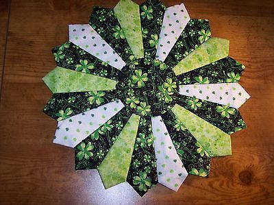 Very cute quilted St. Patrick's Day Table Topper