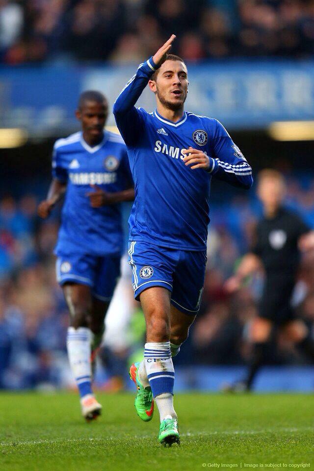 Chelsea FC Eden Hazard December 2013