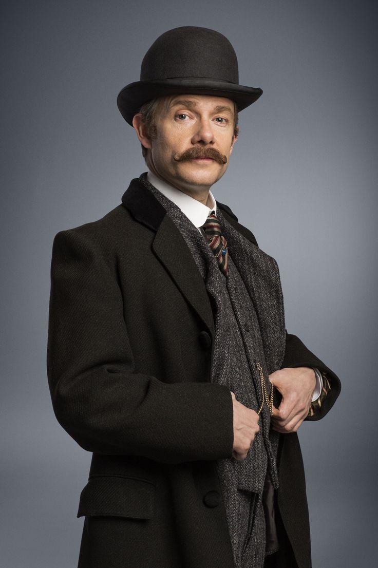 new still of Martin Freeman as Dr. John Watson for 'Sherlock: The Abominable Bride'   via Empire Online