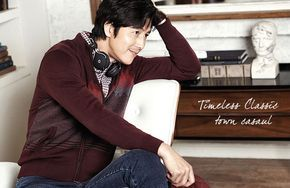 Jung Woo Sung Is Casual For INDIAN's Fall 2014 Campaign & Professional In BRUNO BAFFI | Couch Kimchi
