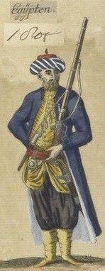 Ottoman Turkish Uniforms WW1 History First World War Militaria Turkey Wargaming Military Insignia Uniform Crimea Crimean - OTTOMAN LIBYA & 1805 BATTLE OF DERNE