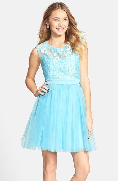 Nice Trends Prom Dresses a. drea 'Aria' Embroidered Illusion Yoke Dress (Juniors) available at #Nordstrom... Check more at http://24myshop.ml/my-desires/trends-prom-dresses-a-drea-aria-embroidered-illusion-yoke-dress-juniors-available-at-nordstrom/