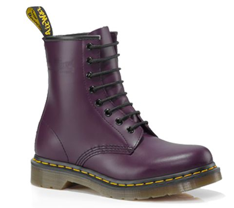 1460 WOMENS PURPLE SMOOTH [or, you know, a way more reasonably priced alternative...]