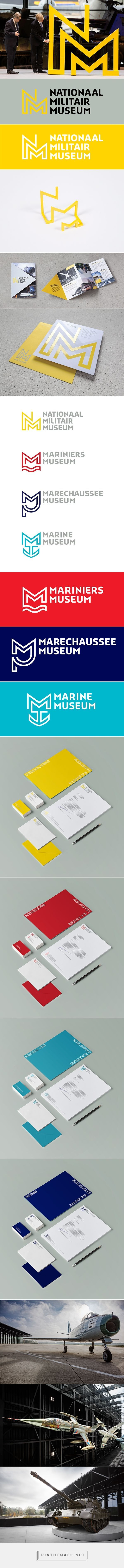National Military Museum: Identity on Behance. If you like UX, design, or design thinking, check out theuxblog.com