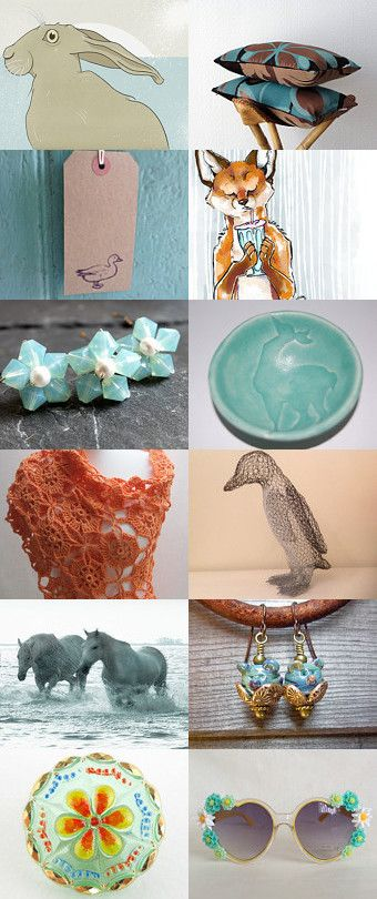 Dorset Fauna and Flora by Lynn Davy on Etsy--Pinned with TreasuryPin.com