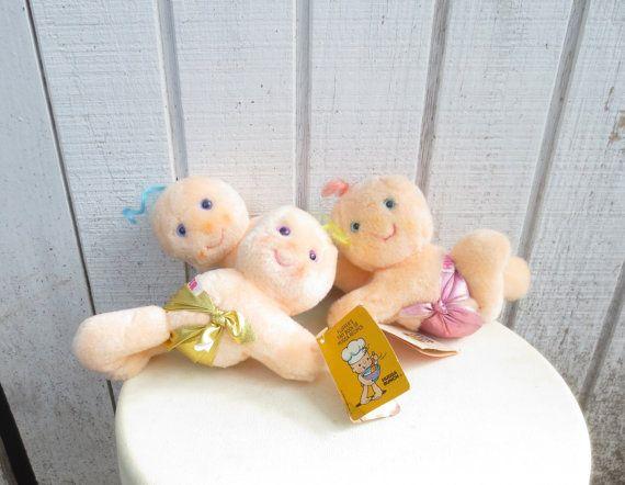 Vintage 80's Toy Hugga Bunch 80's Toy Plush Doll by kerrilendo, $25.00