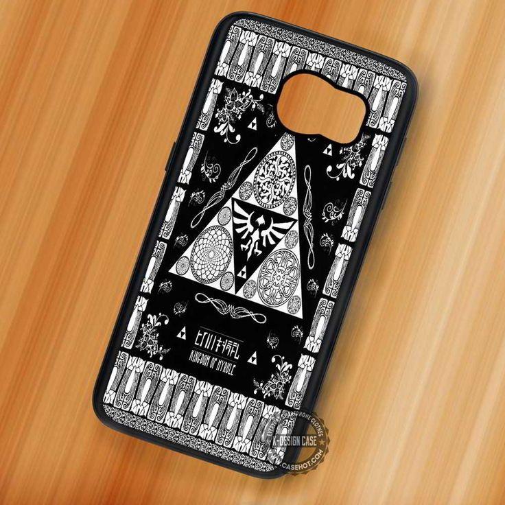 Dark The Legend Of Zelda - Samsung Galaxy S7 S6 S5 Note 7 Cases & Covers