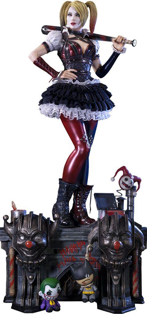Arkham Knight Harley Quinn Polystone Statue