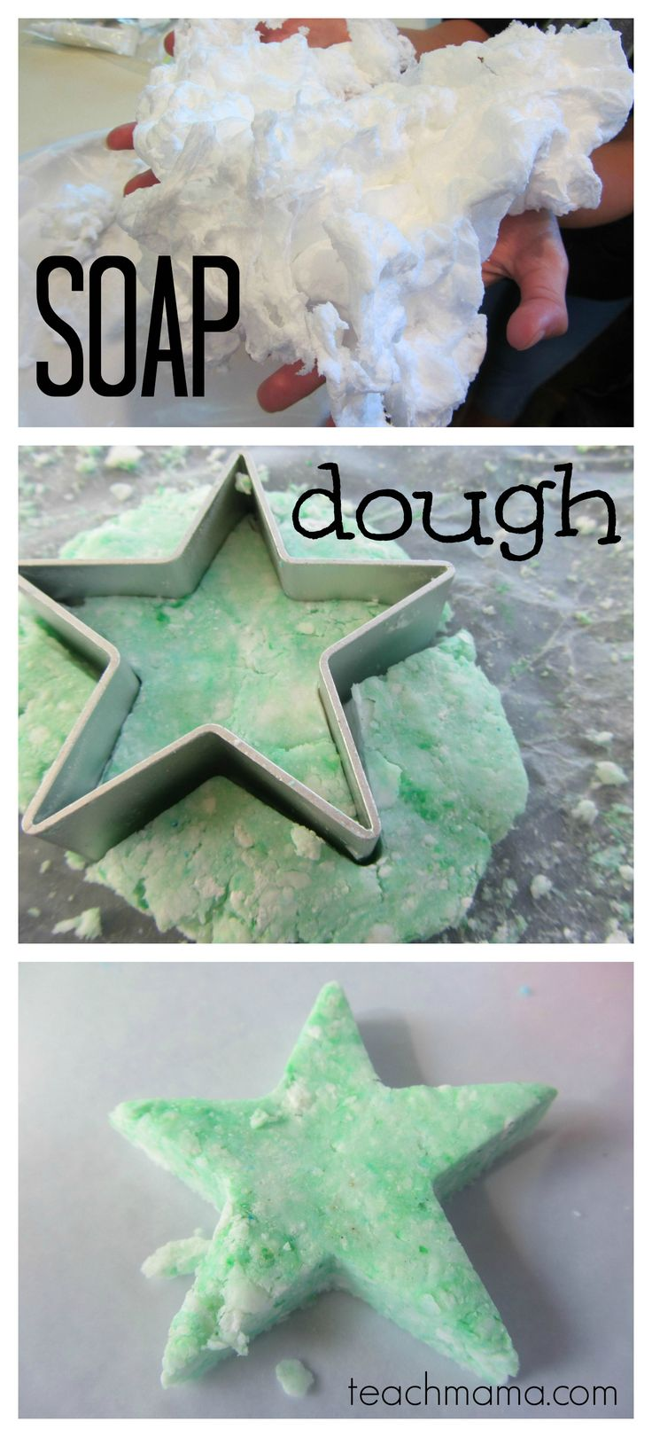 soap dough, soap molds, crazy cool fun with one thing: soap #summerfun #weteach