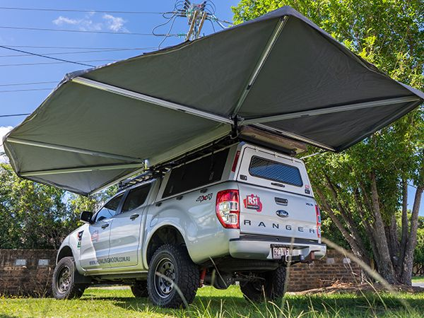 2m And 2 5m 6 Arm 270 Degree Swingawn Options Trailer Awning Truck Camping Roof Tent
