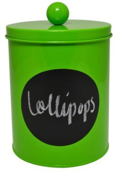 Puszka Lollipop duża- zielona