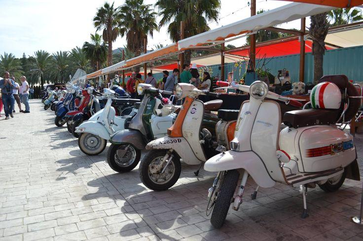 Concentración de Vespas con Vespalia - Rin Ran Market, El Palmar, Murcia