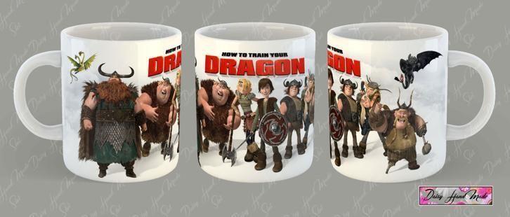 How Train Your Dragon mokken, sublimatie mok, foto mok