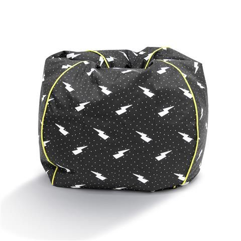 Teardrop Bean Bag - Lightning Bolt
