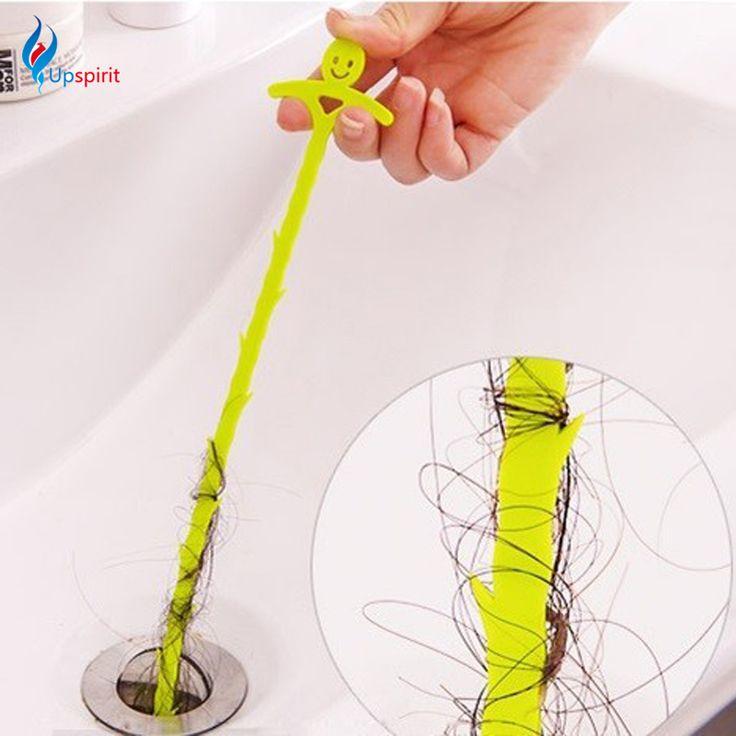 Salle de bains Cheveux D'égout Filtre Nettoyeurs de Drains Sortie Cuisine Évier Drian Filtre Passoire Anti Colmatage Étage Perruque Retrait Obstruer Outils