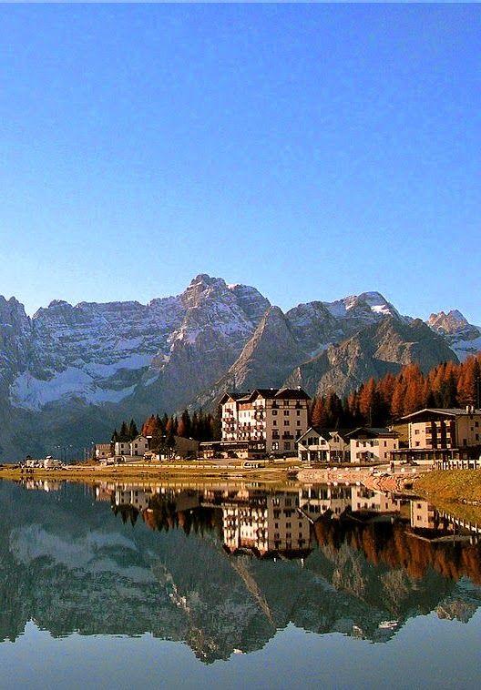 Misurina Lake,Misurina Belluno, Italy