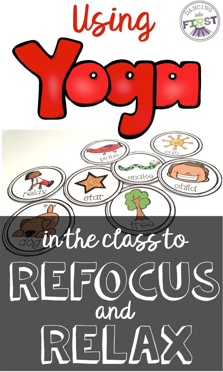 Use yoga to calm down your students, for daily physical activity time and…