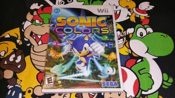 Sonic Colors for the Nintendo #wii Game has been tested and works Great!! Disc have been cleaned and inspected. *Ships in 1-2 business days.  *VGMerch Offers a 14 day Return Policy on all pre-owned items.