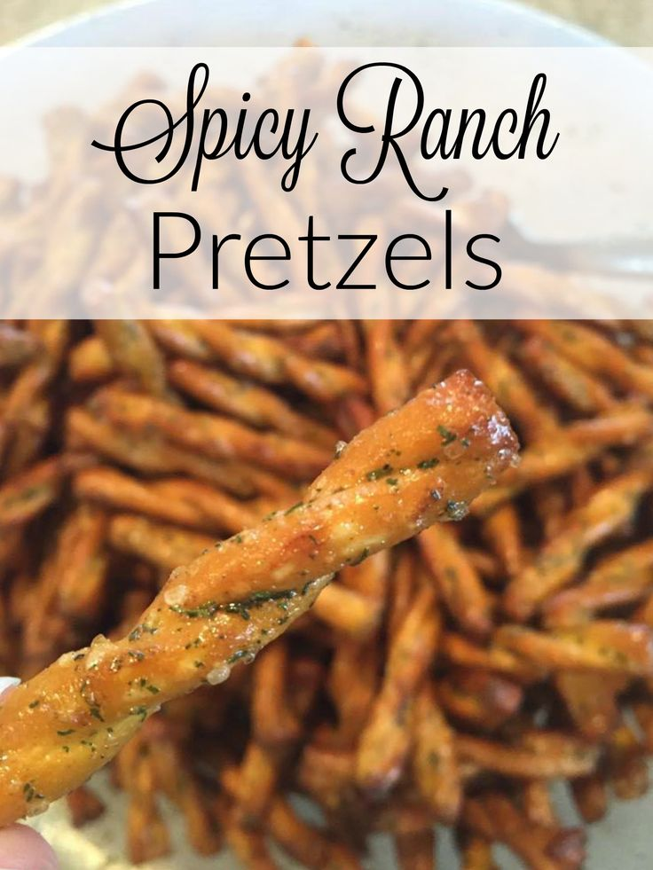 These pretzels are easy, freeze well and are absolutely fantastic! Snack mix recipes - spicy pretzels - finger foods - whatever it is that you're after, these are awesome to have on hand! http://couponcravings.com/appetizers/